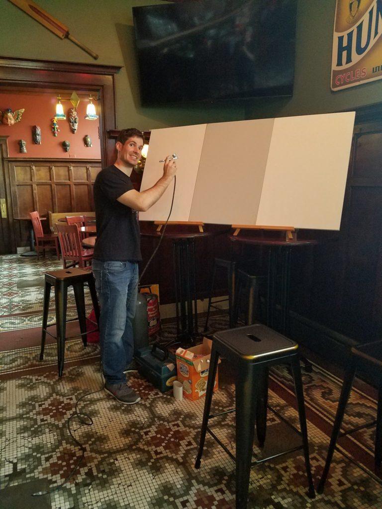 Artist-Host-Theo-Howard-Live-Art-Demonstration