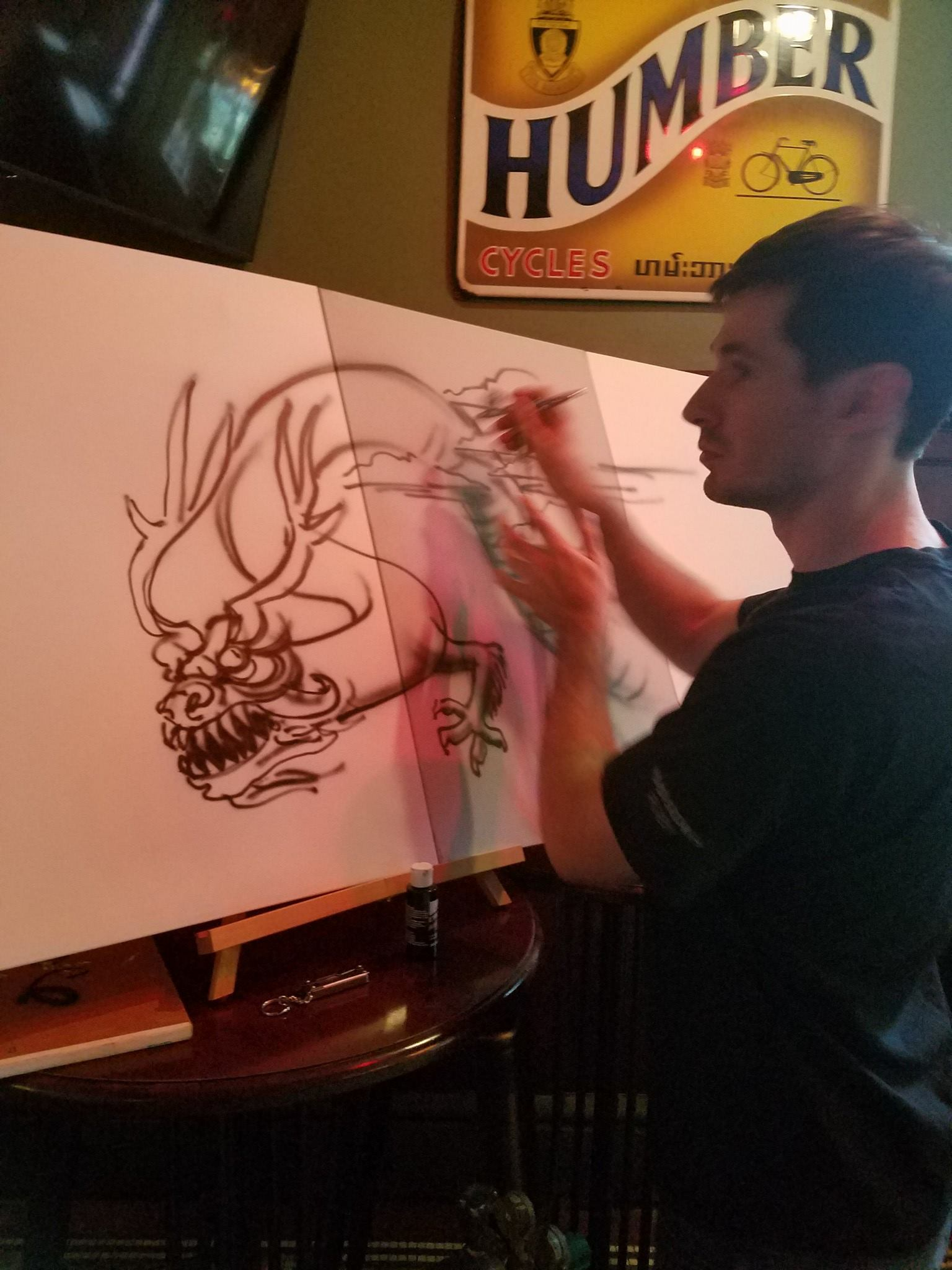 Artist-Host-Theo-Howard-Live-Art-Demonstration2